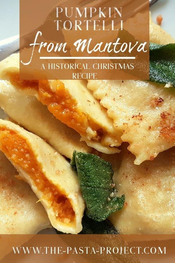 Pumpkin tortelli recipe from Mantova