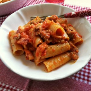 sausage pasta alla zozzona