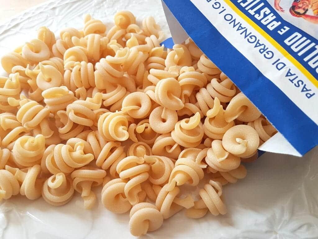 vesuvio pasta from Gragnano