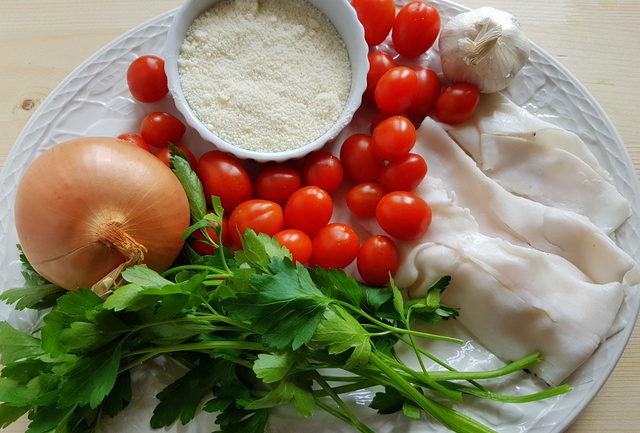 ziti pasta with Italian lardo (ziti lardiati)
